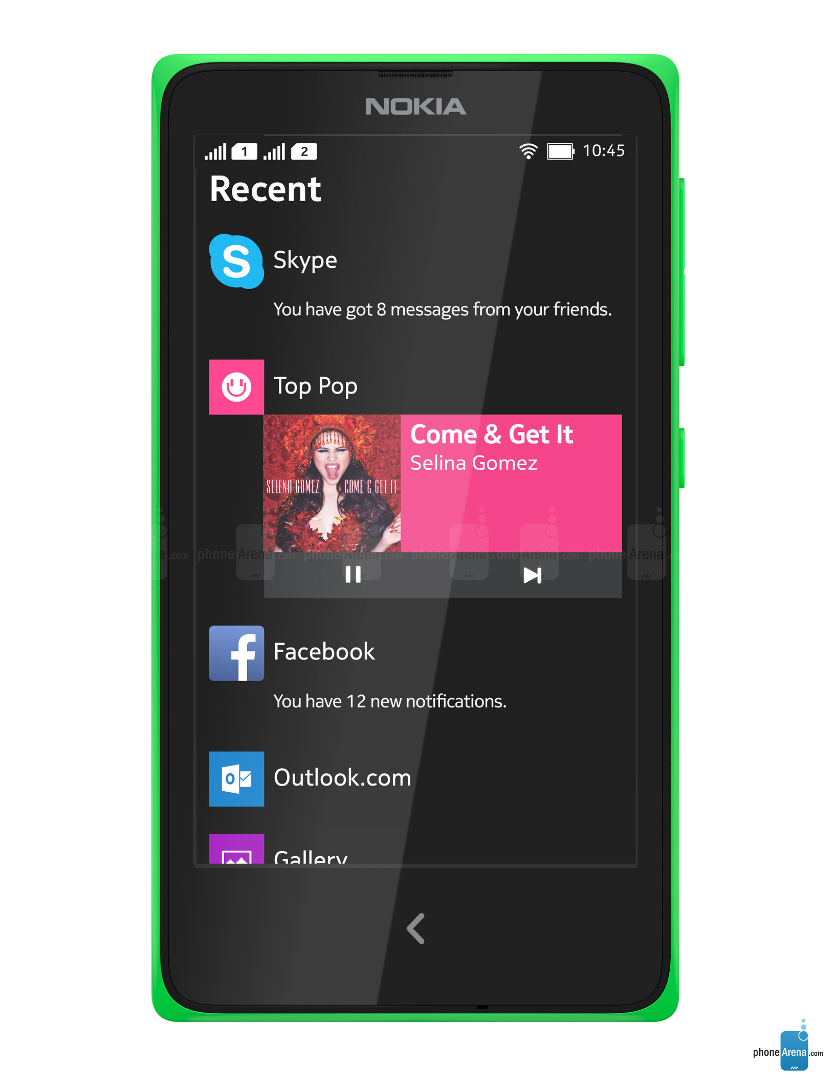 Advantages and Disadvantages Nokia X, Specs