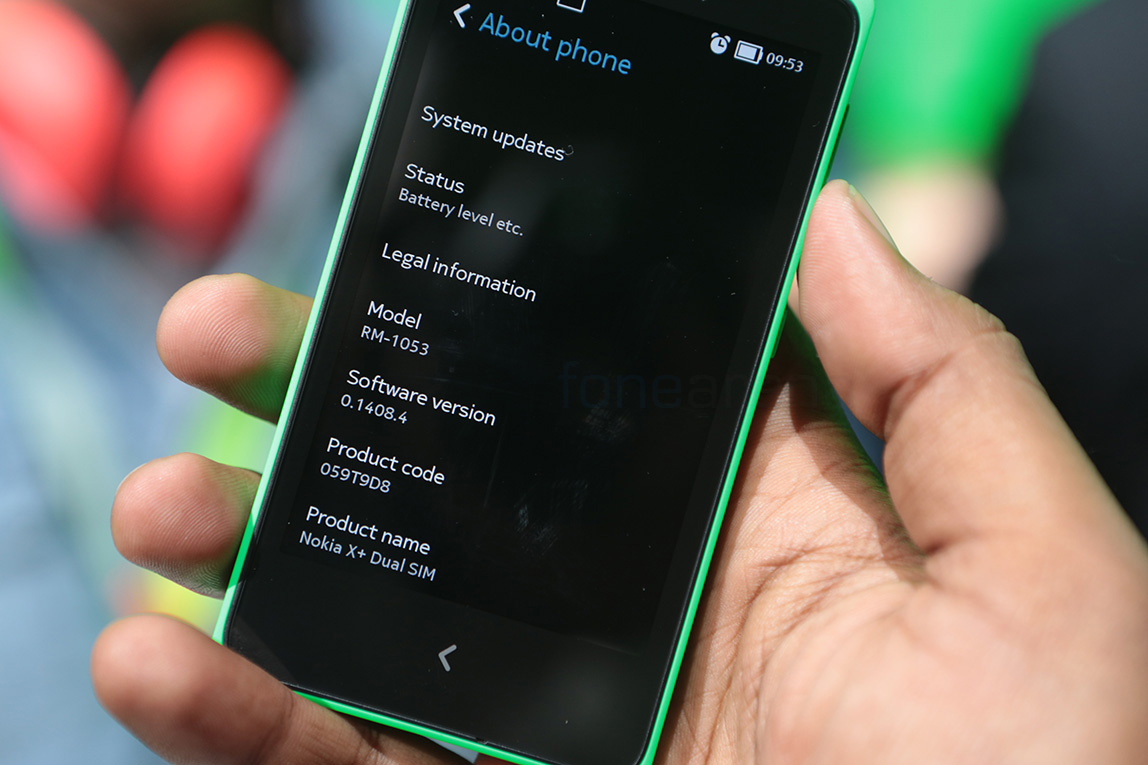 Disadvantages and Advantages Nokia X+, Specs and Price